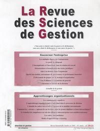 Azzédine Tounes et Alain Fayolle - La Revue des Sciences de Gestion N° 220-221, Juillet- : Gouverner l'entreprise, Apprentissages organisationnels.