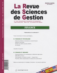Philippe Naszalyi - La Revue des Sciences de Gestion N° 236, Mars-avril 2 : Finance.