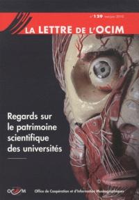 Sophie Béjean - La Lettre de l'OCIM N° 129, mai-juin 201 : Regards sur le patrimoine scientifique des universités.