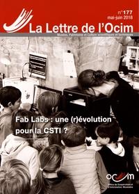 Serge Lochot - La Lettre de l'OCIM N° 177, mai-juin 201 : Fab Labs : une (r)évolution pour la CSTI ?.