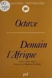 Octave - Demain l'Afrique - De la prospective à la planification.