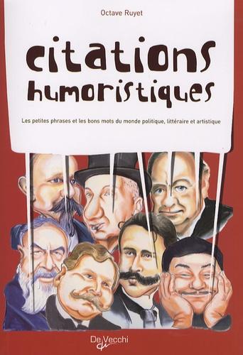 Octave Ruyet - Citations humoristiques.