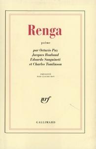Octavio Paz et Jacques Roubaud - Renga.