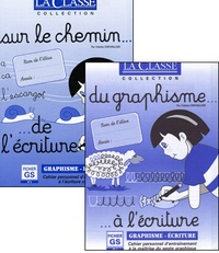 Odette Chevaillier - Du graphisme à l'écriture et Sur le chemin de l'écriture - Fichier GS, 2 volumes.