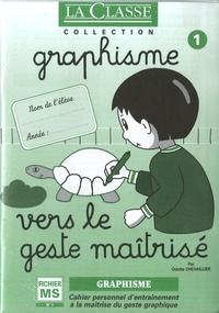 Odette Chevaillier - Graphisme Moyenne section - 2 volumes : Vers le geste maîtrisé fichiers 1 et 2.