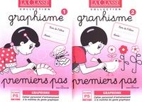 Odette Chevaillier - Graphisme Petite Section - 2 volumes : Graphisme Premiers pas fichiers 1 et 2.