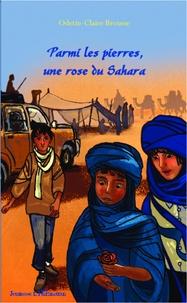 Odette-Claire Brousse - Parmi les pierres, une rose du Sahara.
