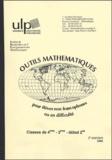 Odile André et Geneviève Jost - Outils de mathématiques pour les élèves non francophones ou en difficulté - Classes de 4e-3e-début 2de.