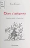 Odile Caradec et Claudine Goux - Chant d'ostéoporose.