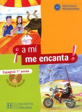 Odile Cleren Montaufray et Isabel Hidalgo - Espagnol 1re année a mi me encanta !. 1 CD audio