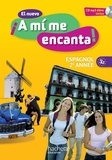 Odile Cleren Montaufray et Maria Isabel Becerra Castro - Espagnol 2e année A1-A2 El nuevo A mi me encanta ! - Livre de l'élève. 1 CD audio MP3