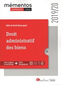 Odile de David-Beauregard - Droit administratif des biens.