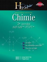 Odile Durupthy et Alain Jaubert - Chimie 2e année MP-MP*/PT-PT* - Cours avec exercices corrigés.