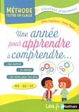Odile Espinoza et Anne Popet - Une année pour apprendre à comprendre... MS-GS-CP.