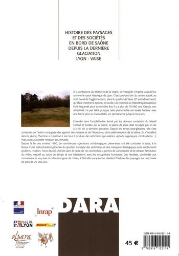 Histoire des paysages et des sociétés en bord de Saône depuis la dernière glaciation