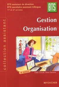 Gestion Organisation BTS 1e et 2e années - BTS assistant de direction BTS secrétaire assistant trilingue.pdf