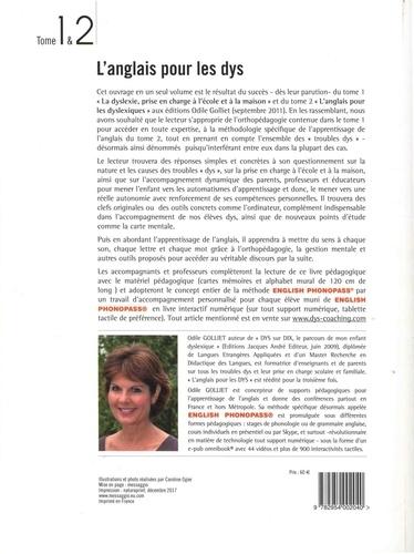 L'anglais pour les dys 3e édition