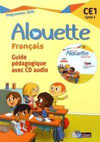Odile Grumel - Français CE1 Alouette - Guide pédagogique. 1 CD audio MP3