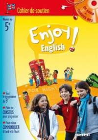 Rhonealpesinfo.fr Anglais 5e Enjoy English - Cahier de soutien Image