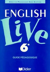 ANGLAIS 6EME ENGLISH LIVE. Guide pédagogique.pdf