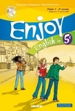 Odile Martin-Cocher et Nadine Alfaïa - English in 5e Enjoy - Palier 1 - 2e année. 1 CD audio