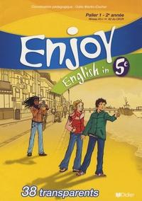 Odile Martin-Cocher - English in 5e Enjoy - 38 transparents.
