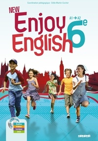 Odile Martin-Cocher et Elodie Vialleton - Enjoy English 6e - A1-A2. 1 DVD
