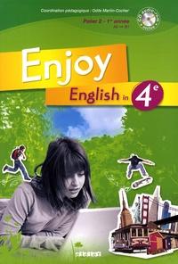 Odile Martin-Cocher et Abdel-Aziz Fahem - Enjoy English in 4e. 1 CD audio