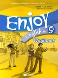 Odile Martin-Cocher - Enjoy English in 5e - Workbook.
