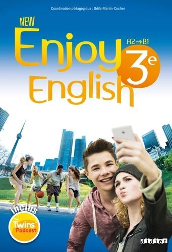 Odile Martin-Cocher et Sophie Plays - New Enjoy English 3e A2-B1. 1 DVD