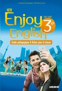 Odile Martin-Cocher et Sophie Plays - New Enjoy English 3e A2-B1 - Guide pédagogique & fiches pour la classe.