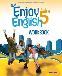 Odile Martin-Cocher - New enjoy english 5e A1/A2 - Workbook.