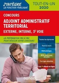 Odile Meyer et Jean Lepage-laurens - Concours Adjoint administratif territorial 2019/2020 - Tout-en-un - Concours 2019/2020.