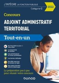 Odile Meyer et Jean Lepage-Laurens - Concours Adjoint administratif territorial 2022 - Tout-en-un - Externe, interne, 3e voie.