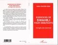 Odile Racine-Issa - Exercices de swahili pour débutants - Corrigés des exercices.