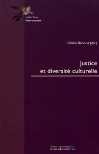 Odina Benoist - Justice et diversité culturelle.