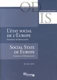 ODIS et Jean-François Chantaraud - L'état social de l'Europe - Inventeur de démocraties.