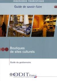 ODIT France - Boutiques de sites culturels - Guide du gestionnaire.