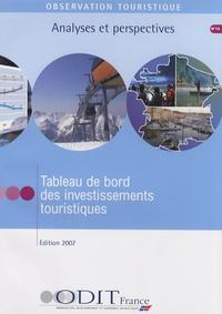 ODIT France - Tableau de bord des investissements touristiques.