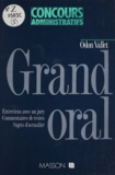 Odon Vallet - Grand oral.