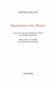 Odysseus Elytis - Equivalences chez Picasso.