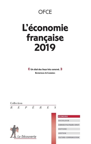 L'économie française  Edition 2019