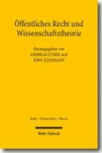 Öffentliches Recht und Wissenschaftstheorie.