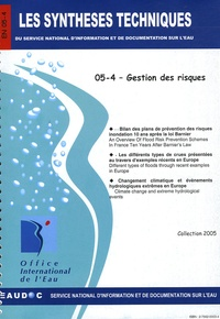 Office international de l'eau - Gestion des risques.