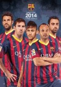 Official Barcelona 2014 Calendar.