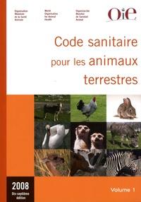 OiE - Code sanitaire pour les animaux terrestres - 2 volumes.