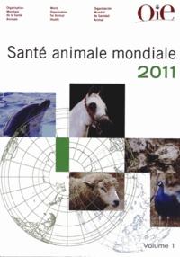 OiE - Santé animale mondiale en 2011 - 2 volumes.