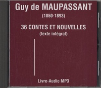 Guy de Maupassant - 36 contes et nouvelles. 1 CD audio MP3