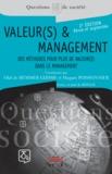 Olaf de Hemmer Gudme et Hugues Poissonnier - Valeur(s) & management - Des méthodes pour plus de valeur(s) dans le management.