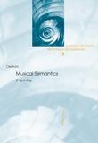 Ole Kühl - Musical Semantics - Second Printing.